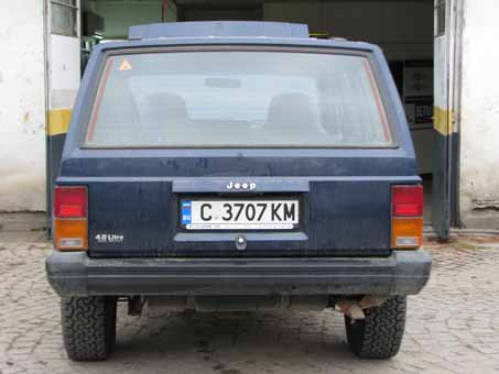 Jeep Cherokee 4.0 190 ps 1996