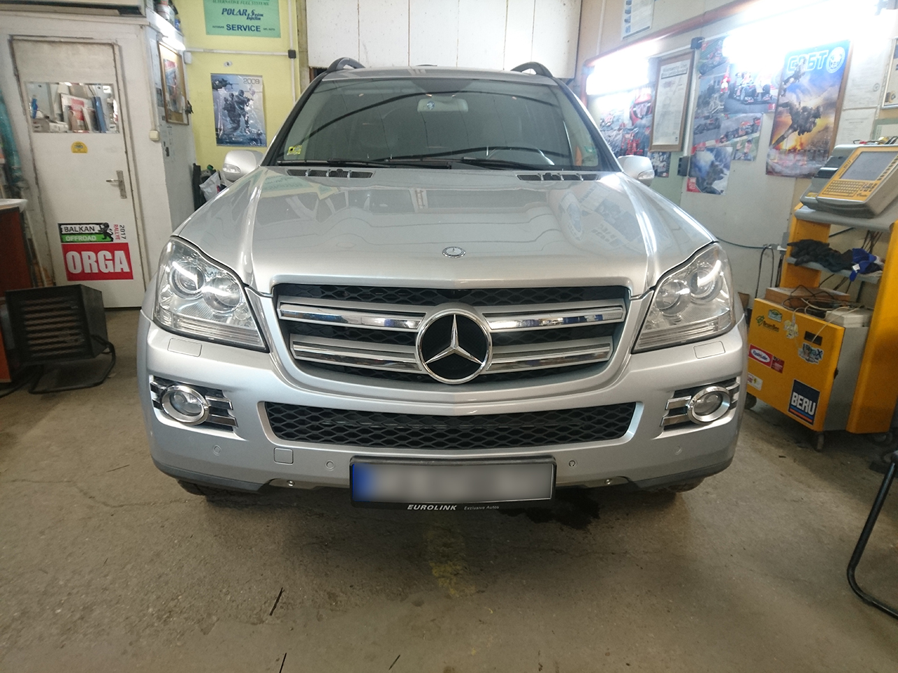 Mercedes GL 500 388ps 2007